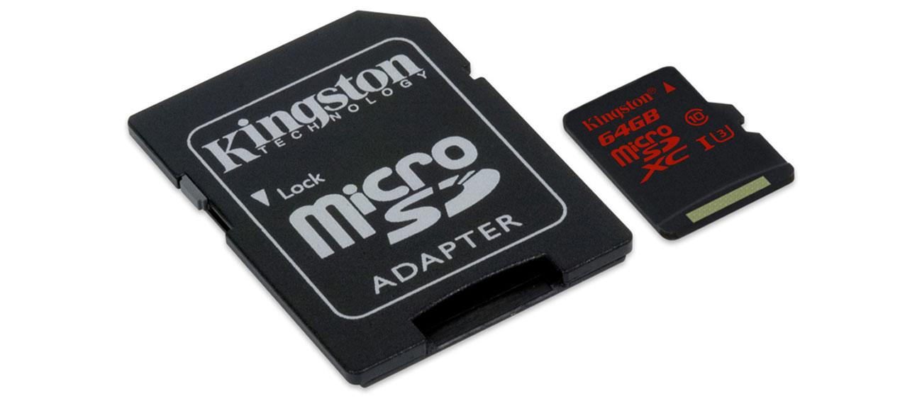 Kingston 64GB microSDXC szybkość jakość