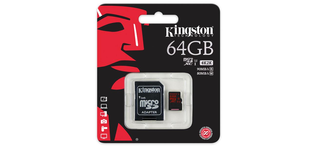 Kingston 64GB microSDXC  trwałość uniwersalność