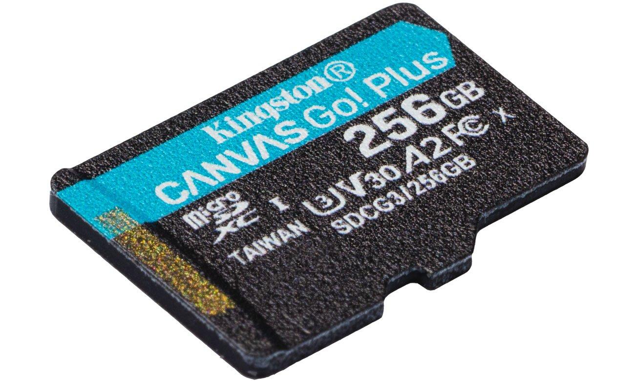 Prędkości nagrywania U3 i V30
