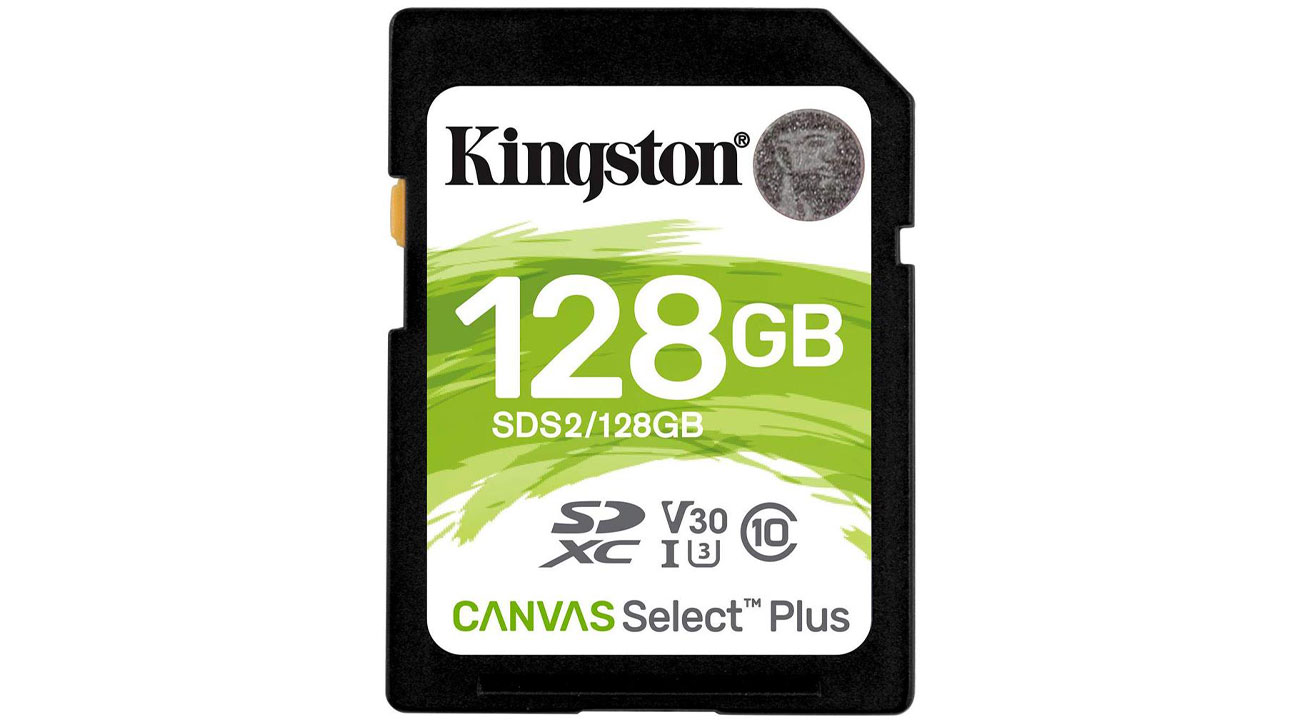 Karta pamięci Kingston Canvas Select Plus 128 GB
