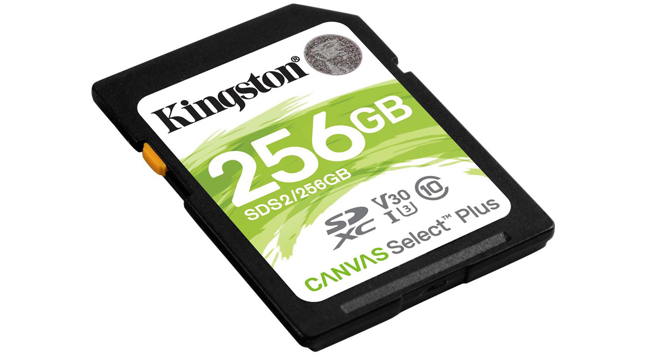 Karta pamięci Kingston Canvas Select Plus 256 GB