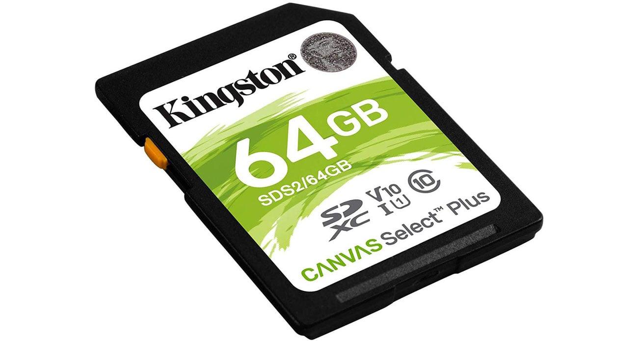 Karta pamięci Kingston Canvas Select Plus 64 GB