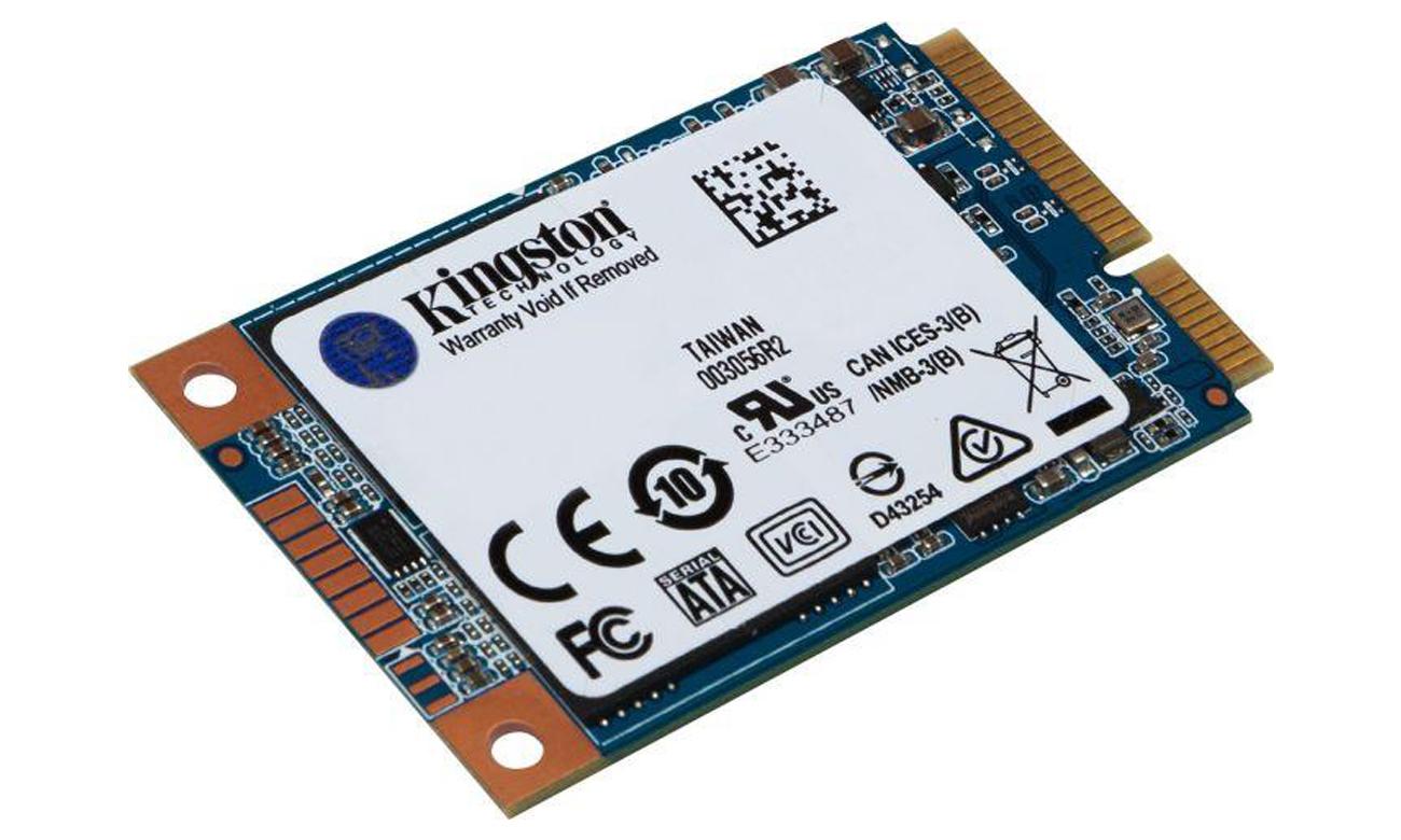 Kingston UV500 SSD mSATA Do komputerów stacjonarnych i notebooków