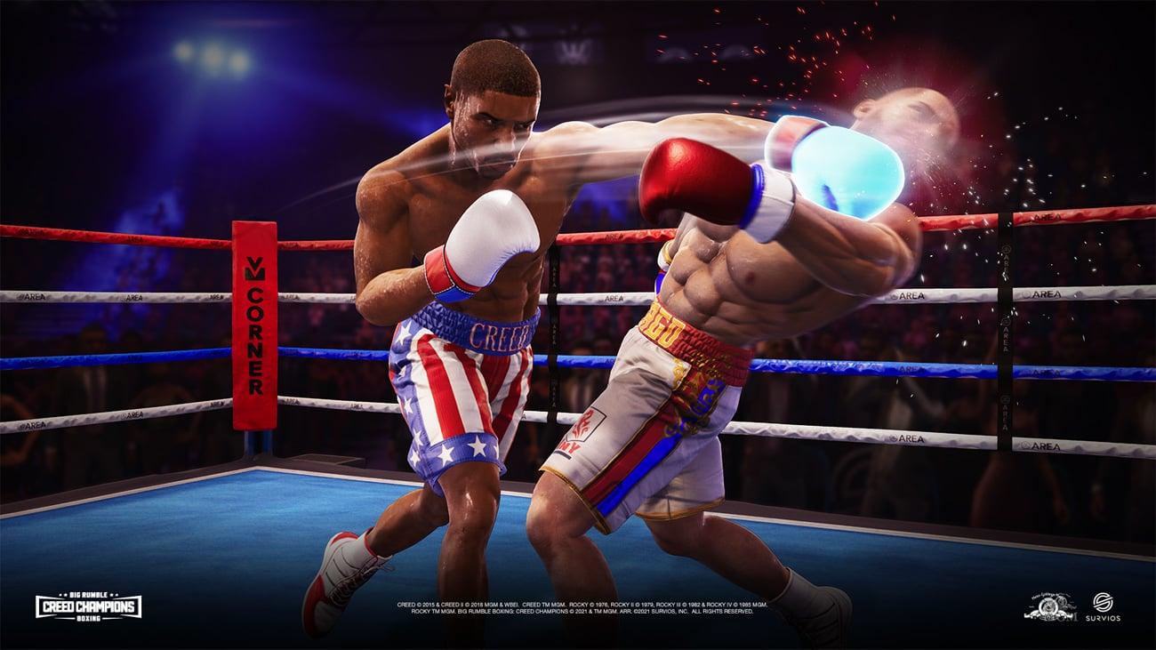 Gra Big Rumble Boxing: Creed Champions na PlayStation 4