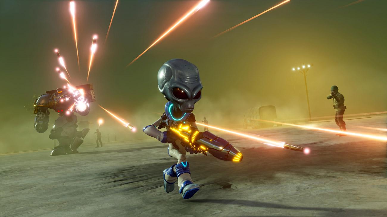 Gra Destroy All Humans! na Xbox One