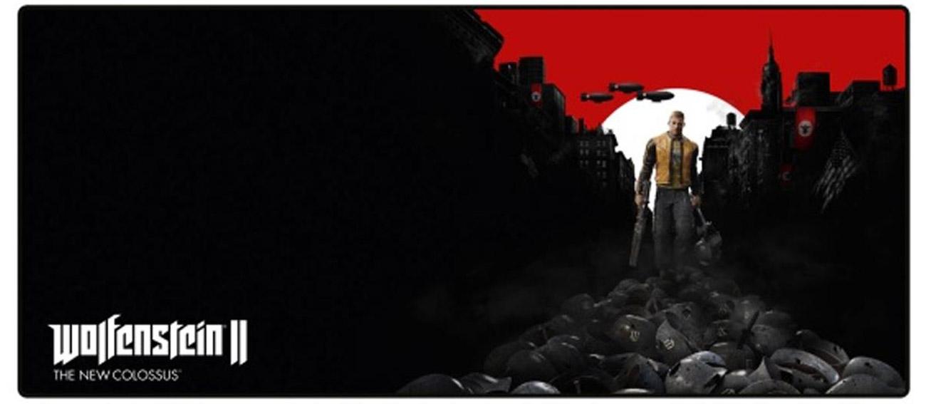Podkładka pod mysz Wolfenstein - Trail of the Dead