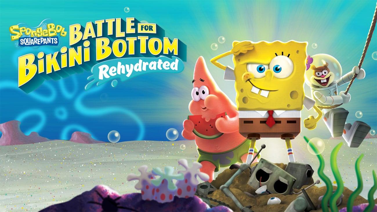 Gra SpongeBob: Battle for Bikini Bottom Rehydrated na PlayStation 4
