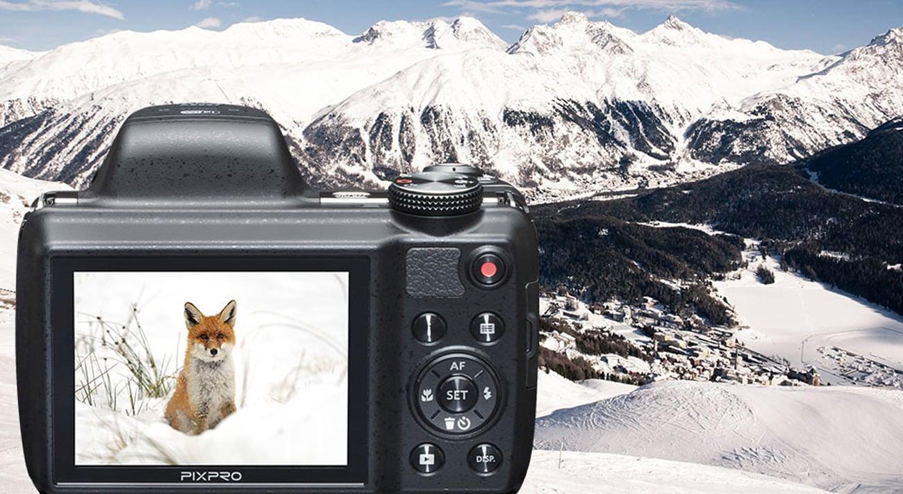 Kodak Astro Zoom 52 -krotny zoom optyczny