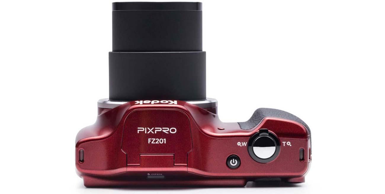 Kodak FZ201 20-krotny Zoom