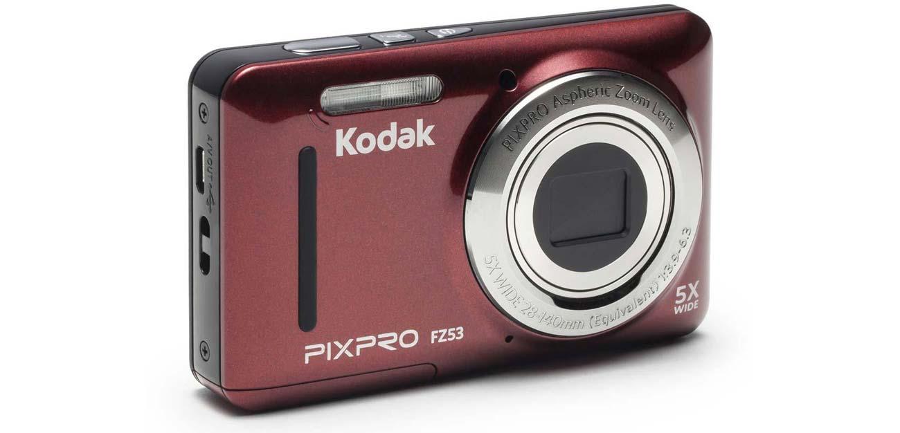 Kodak FZ53 Szeroka Ogniskowa