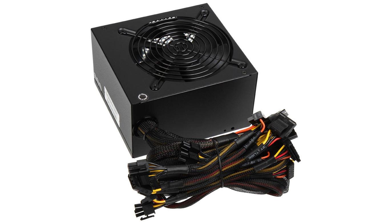 KL-700 80 Plus Bronze 700W kable