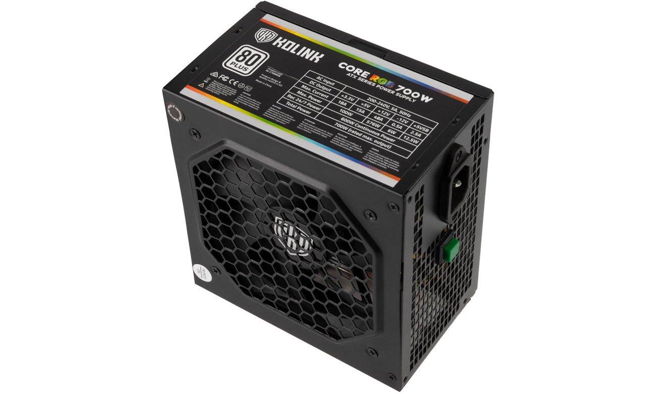 Kolink Core RGB 700W 80 PLUS KL-C700RGB