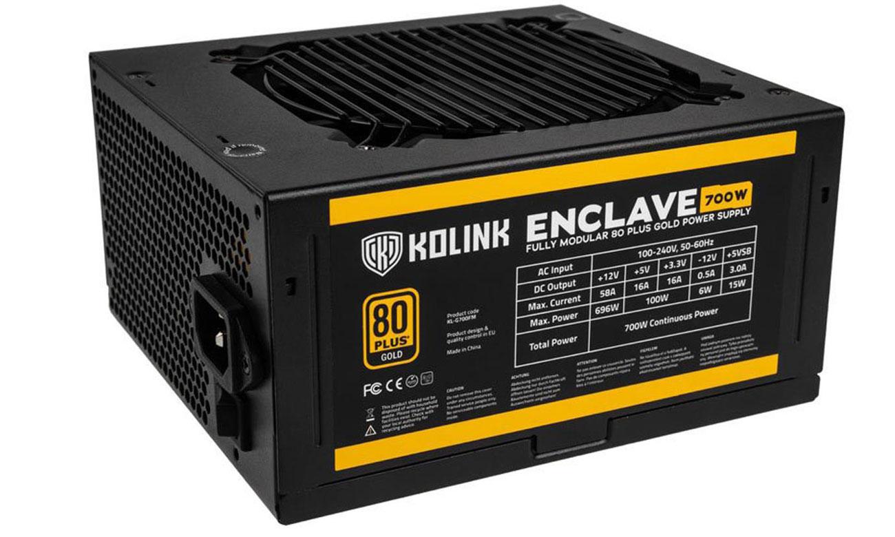 Zasilacz do komputera Zasilacz do komputera Kolink Enclave 700WSeasonic S12III 650 W
