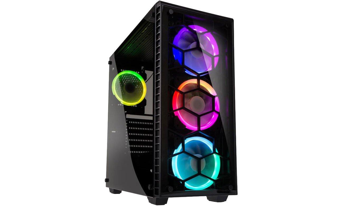 Obudowa do komputera Kolink Observatory Black RGB GEKL-035 / OBSERVATORY RGB