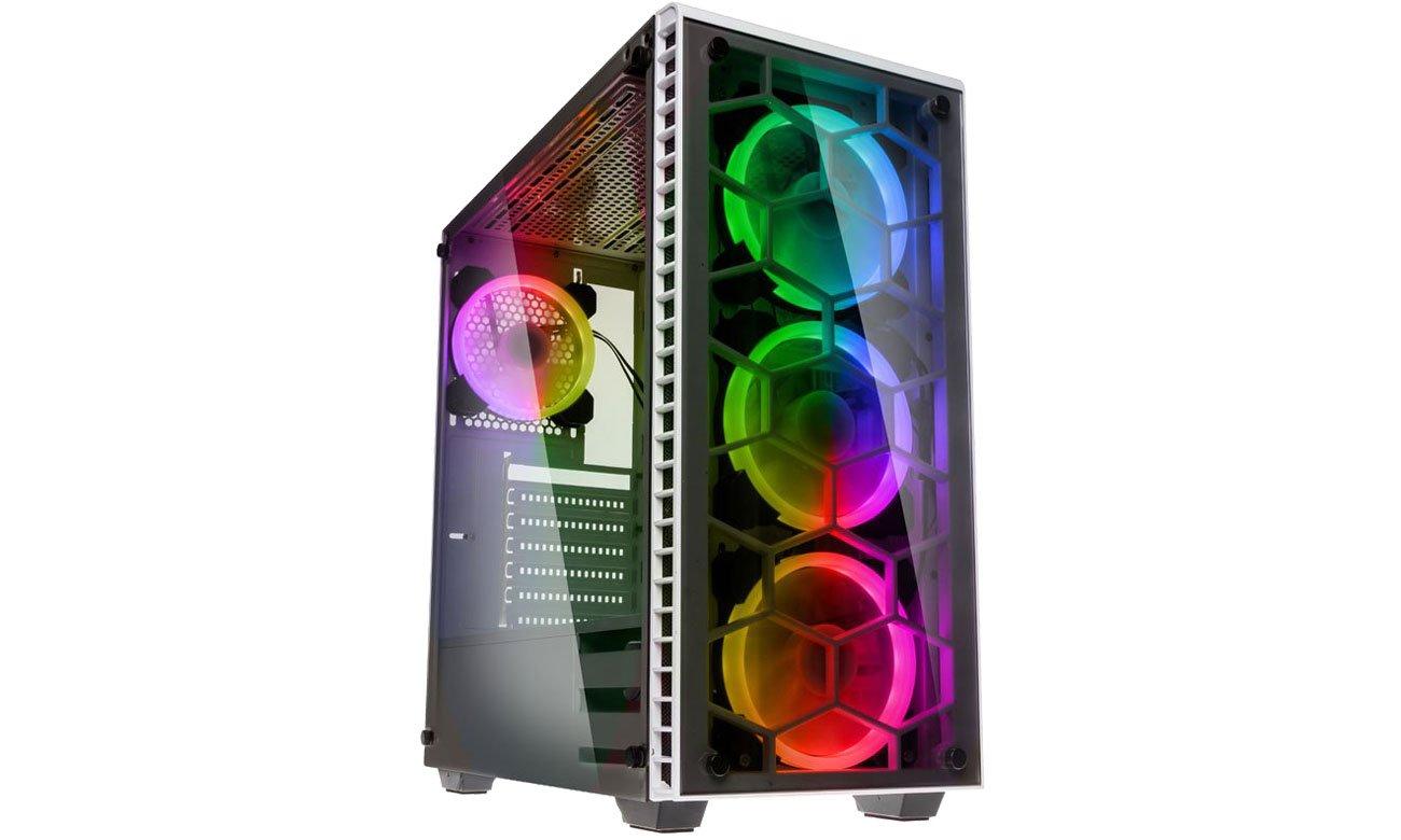 Obudowa do komputera Kolink Observatory RGB White GEKL-037 / OBSERVATORY RGB WHITE