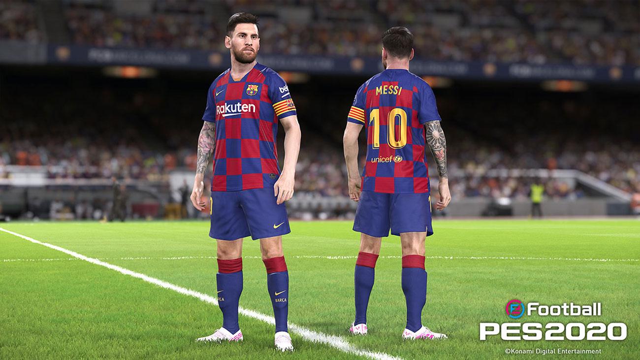 KONAMI eFootball PES2020 - Leo Messi