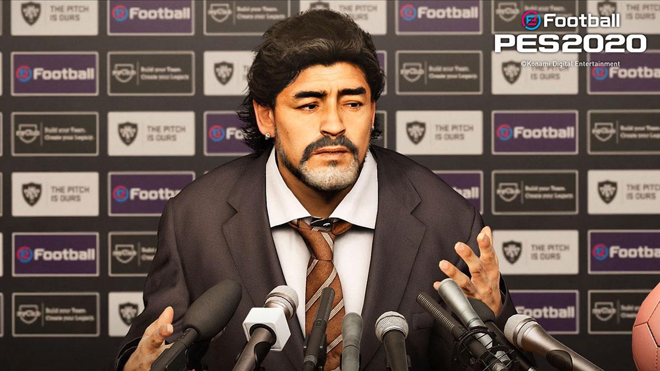 KONAMI eFootball PES2020 - Master League, Maradona