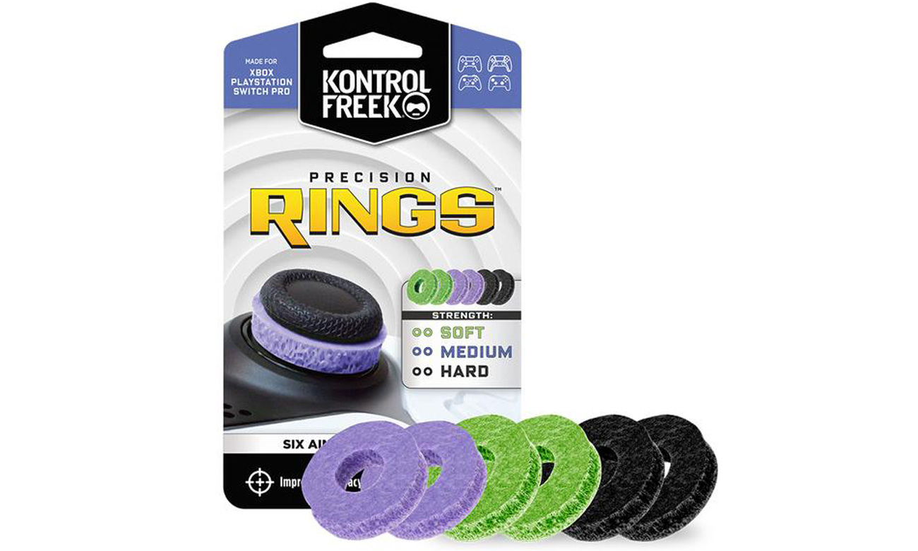 Pierścienie KontrolFreek Precision Rings Mixed 6-Pack
