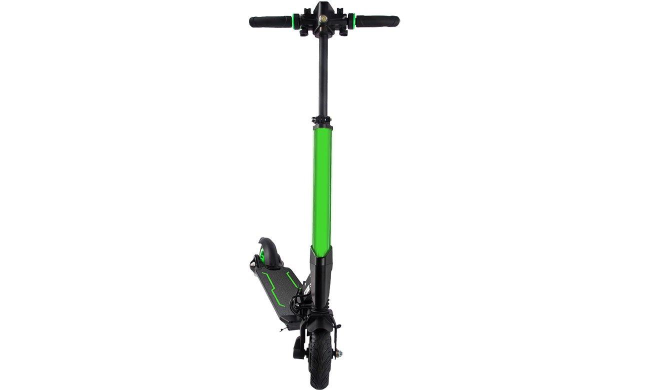 Koowheel E1 Zielona Oświetlenie