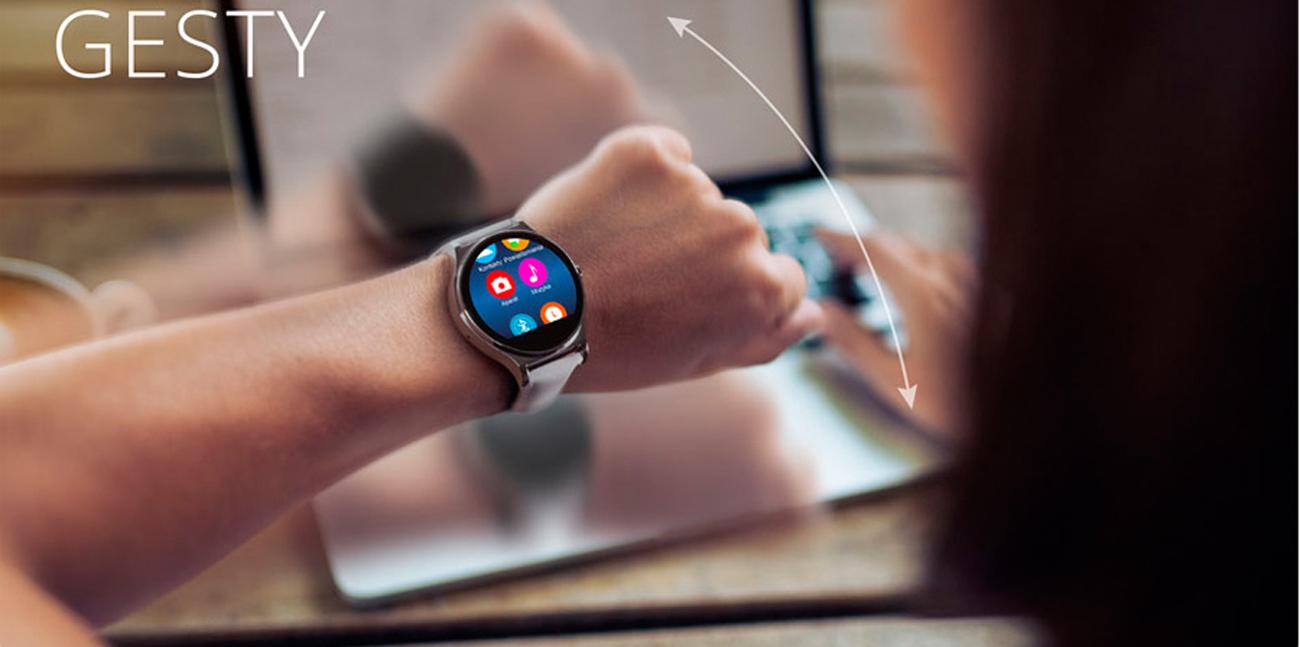 smartwatch Kruger&Matz Style sterowanie gestami