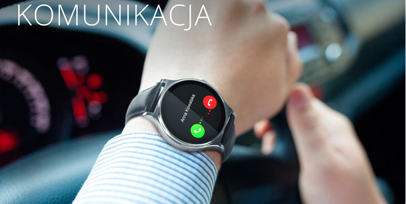 smartwatch Kruger&Matz Style odbieranie połaczeń i wiadomości