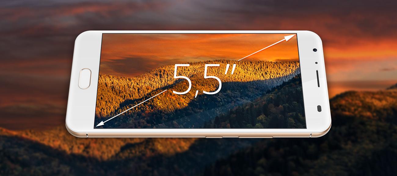Kruger&Matz LIVE 5+ ekran 5.5'' full HD IPS