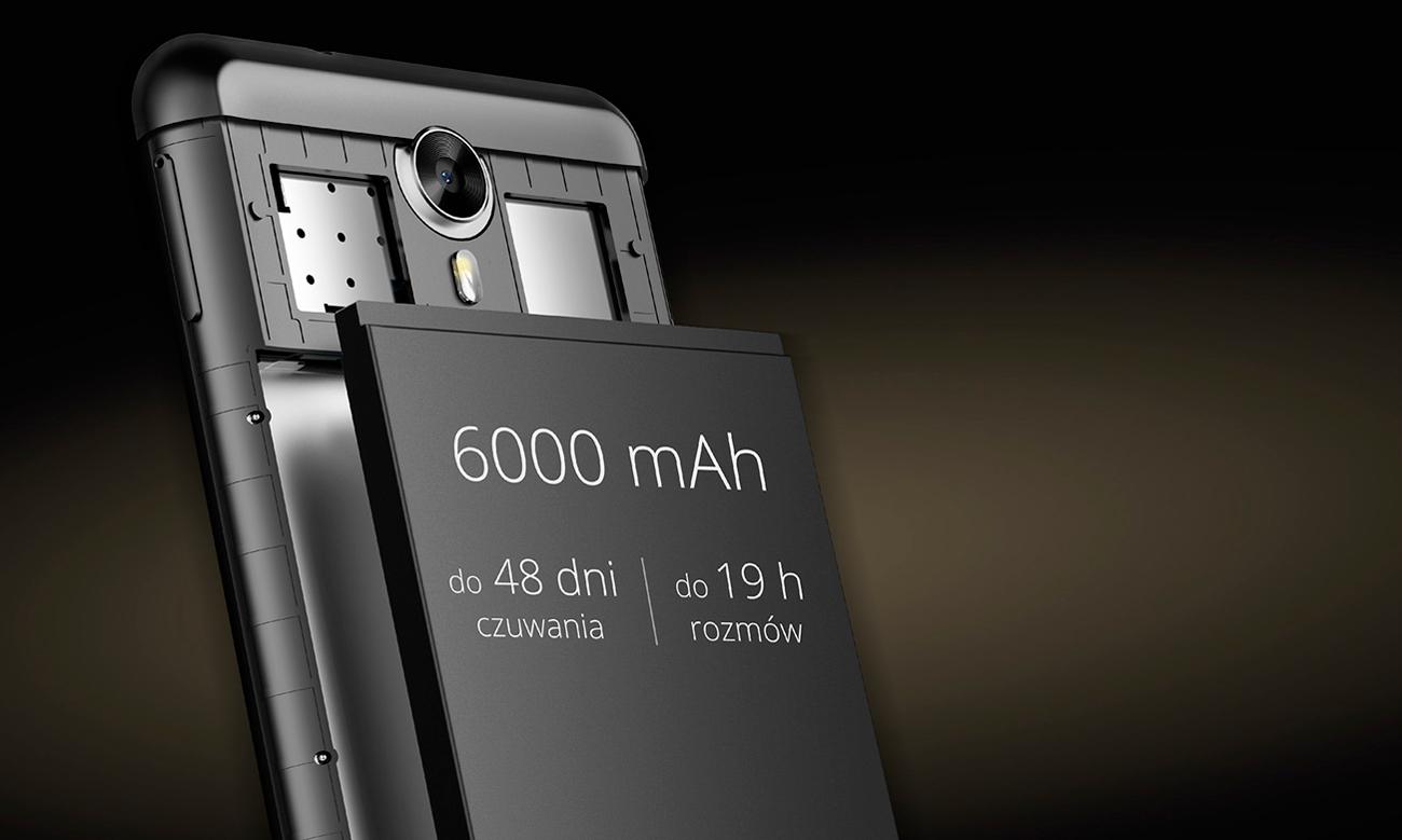 Kruger&Matz LIVE 5+ bateria 6000 mAh
