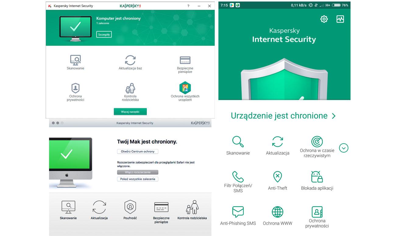 Kaspersky Internet Security Funkcje i zalety