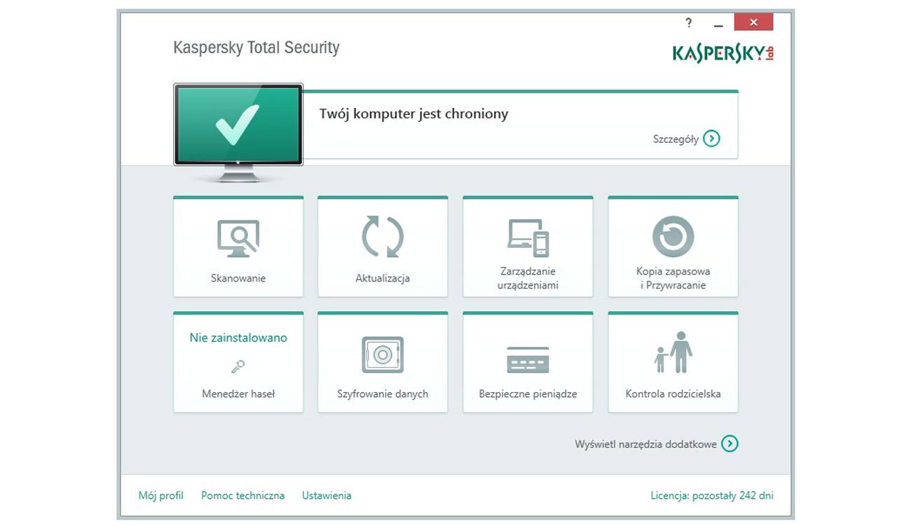 Kaspersky Total Security Multi-Device ESD Ochrona świata cyfrowego