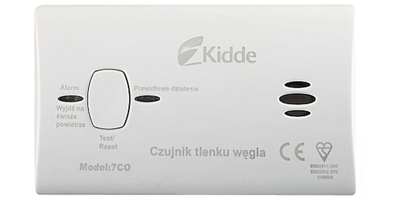 Czujnik tlenku węgla Kidde 7CO
