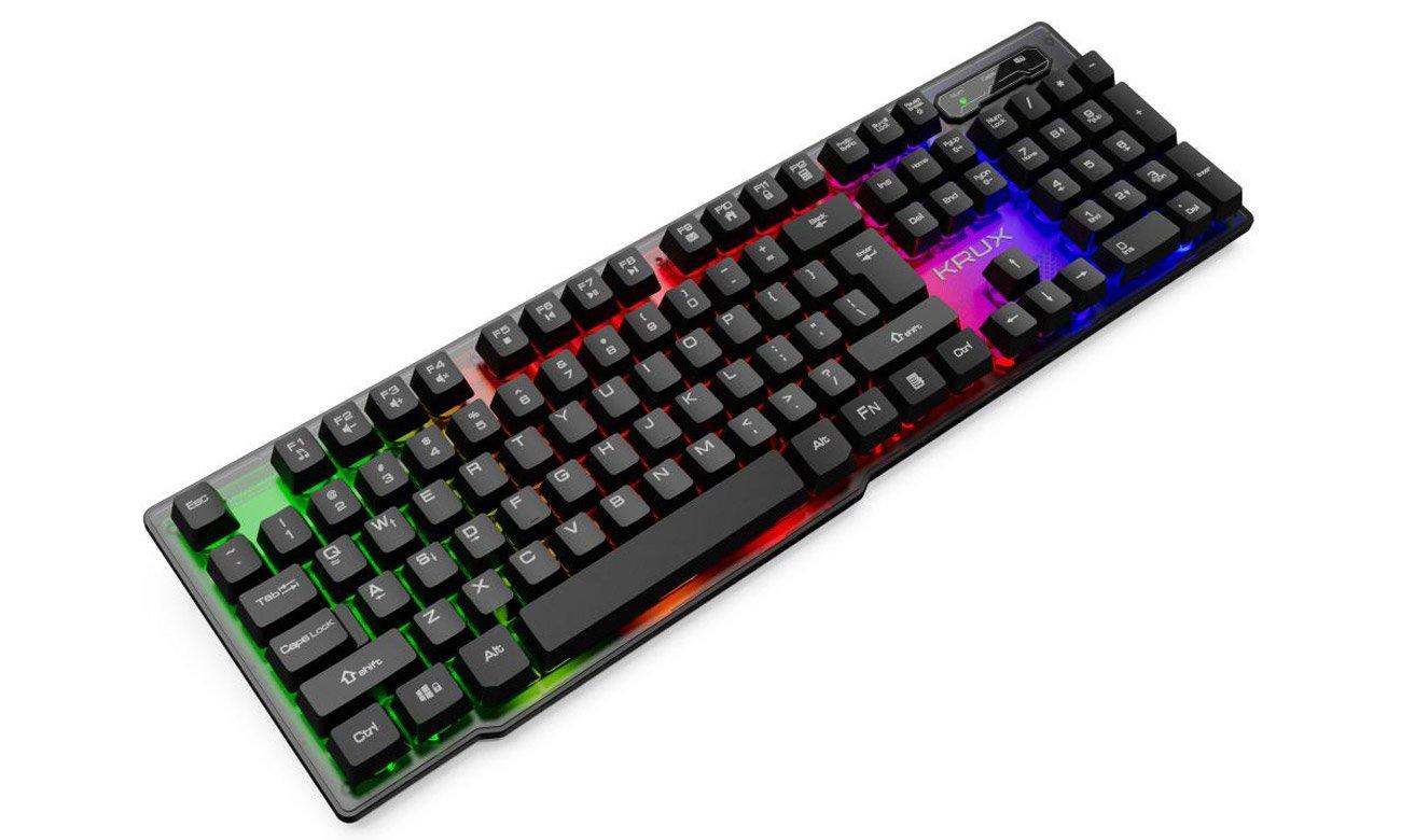 Klawiatura gamingowa Krux Solar RGB