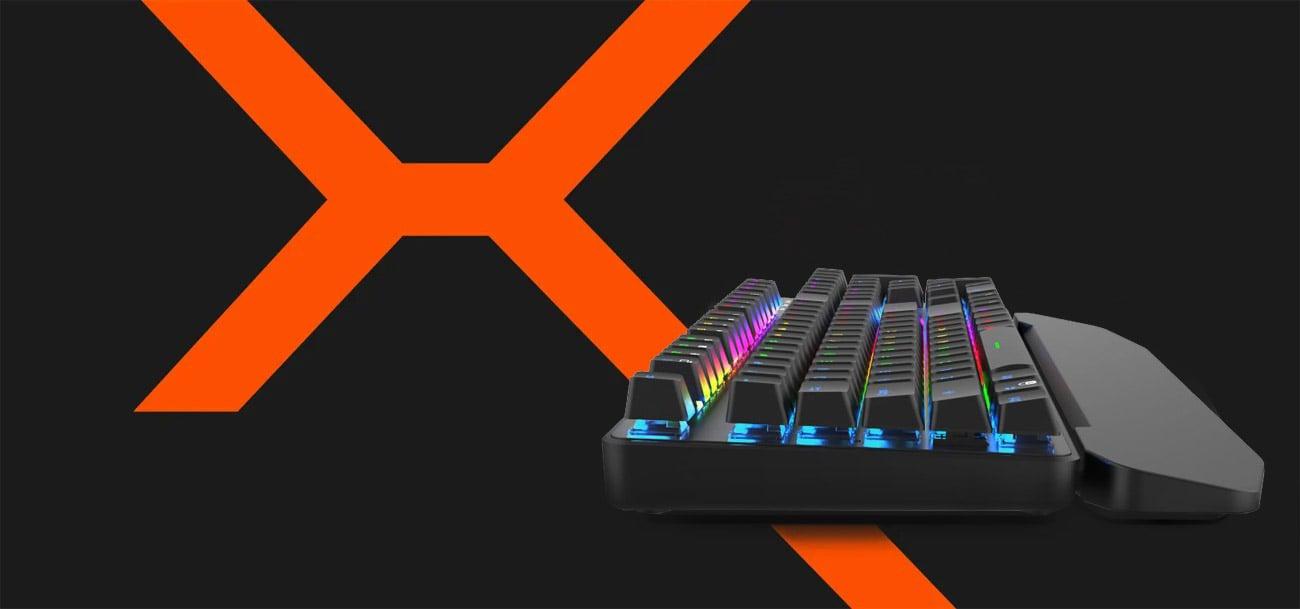 Klawiatura mechaniczna KRUX Meteor RGB