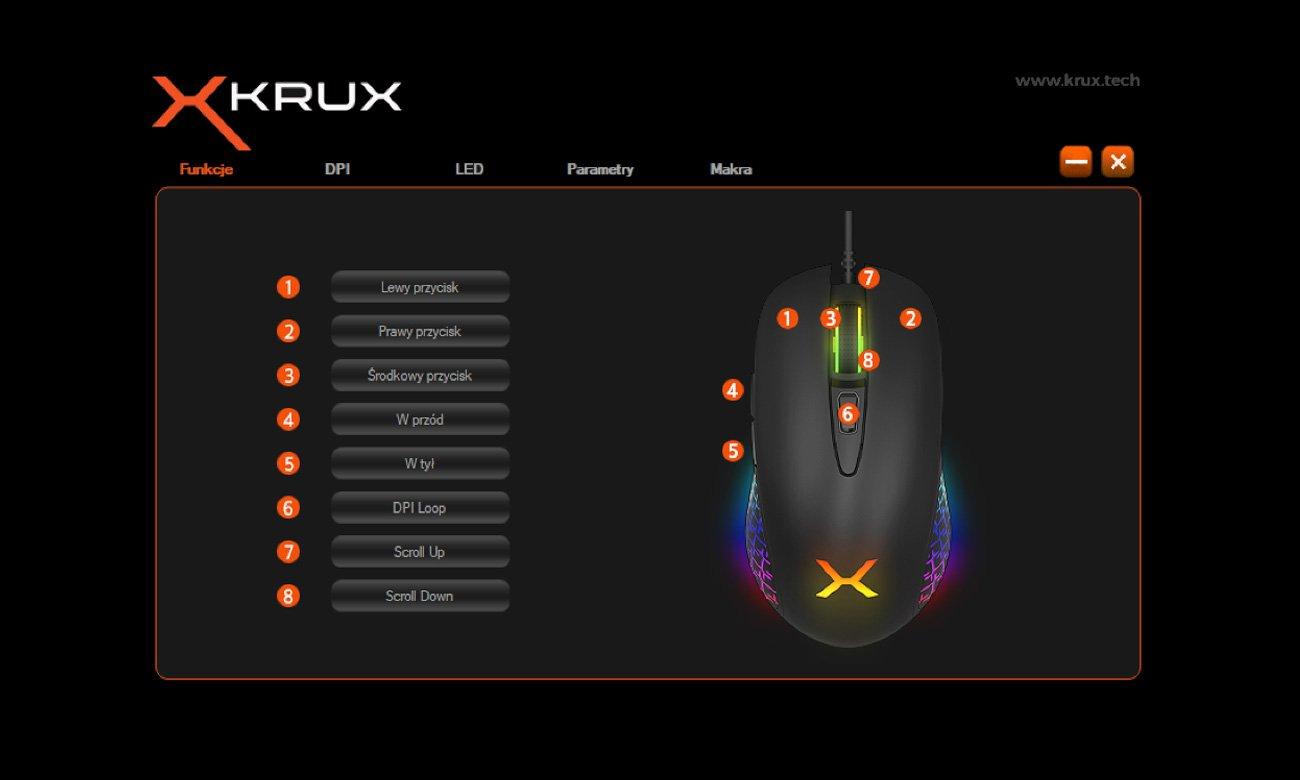 Gamingowa mysz KRUX Thorn