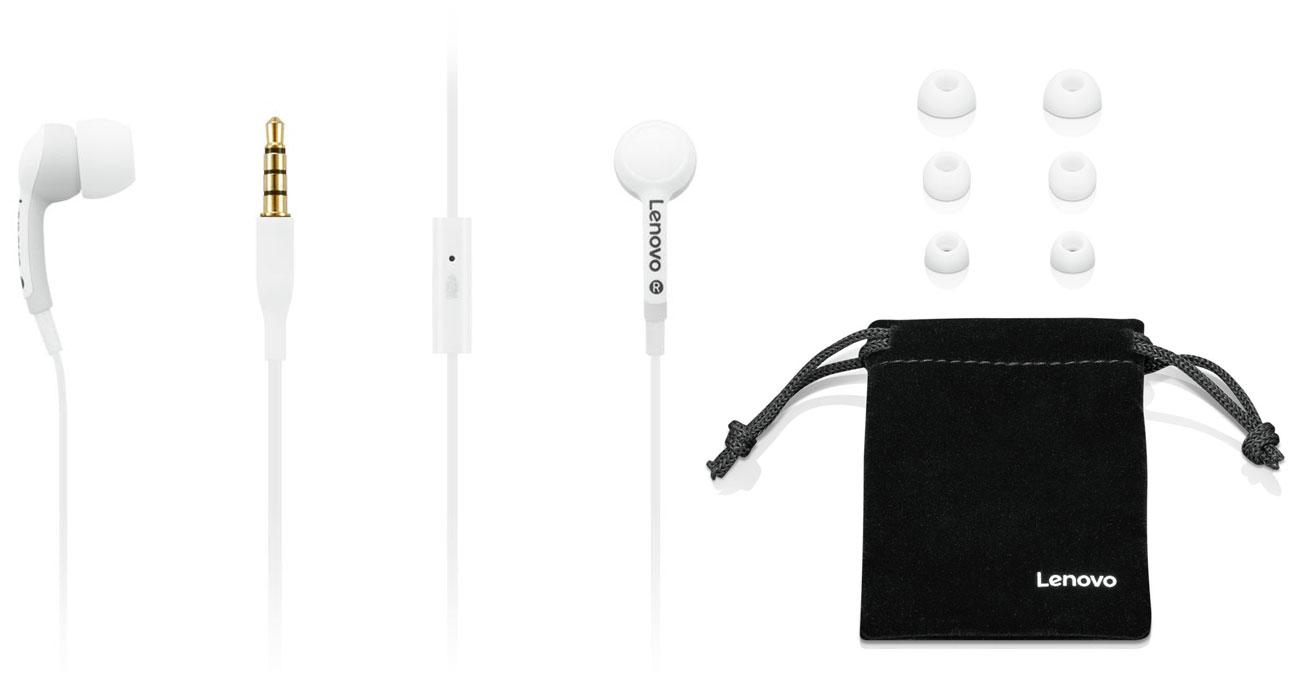 Słuchawki Lenovo 100 In-Ear Headphone białe