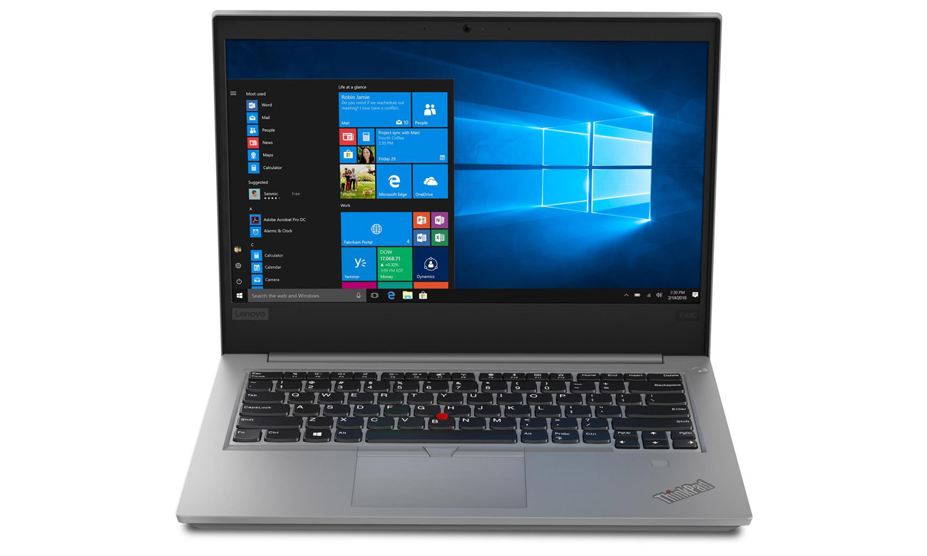 Laptop biznesowy Lenovo ThinkPad E490