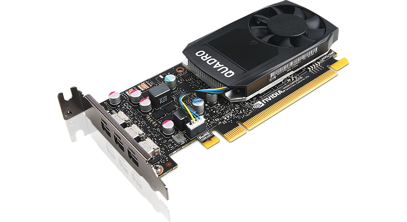 Karta graficzna Lenovo Quadro P400 Low Profile 2GB GDDR5 4X60N86656