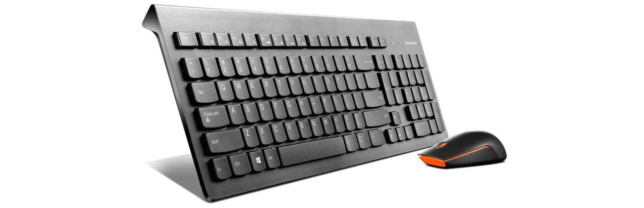 Lenovo 500 Wireless Combo zestaw bezprzewodowej myszy oraz klawiatury