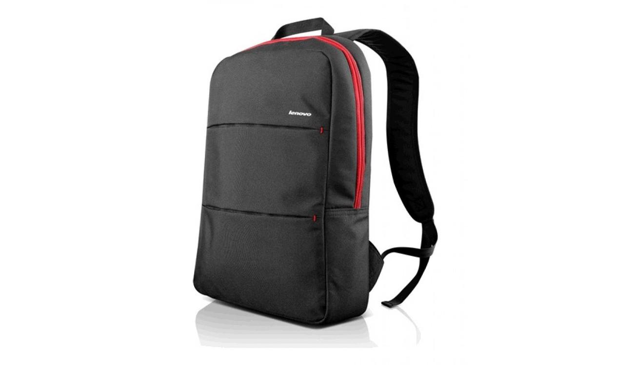 9d46b80cd4c05 Simple Backpack od Lenovo to niedrogi, pełnowymiarowy plecak z wyściełaną  bezpieczną kieszenią na laptop i z mnóstwem dodatkowej przestrzeni.
