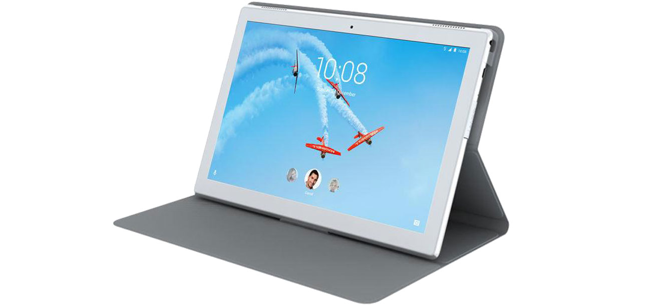 Etui na tablet Lenovo Folio Case do Lenovo TAB4 10 HD szary Podstawka