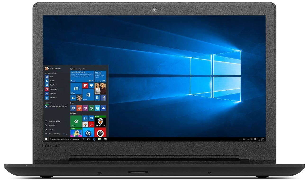 Laptop Lenovo Ideapad 110 z czterordzeniowym procesorem