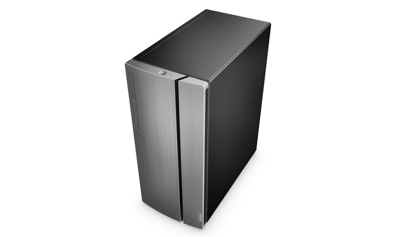 Desktop Lenovo Ideacentre 510 Łatwo dostępne porty, Elegnacki wygląd