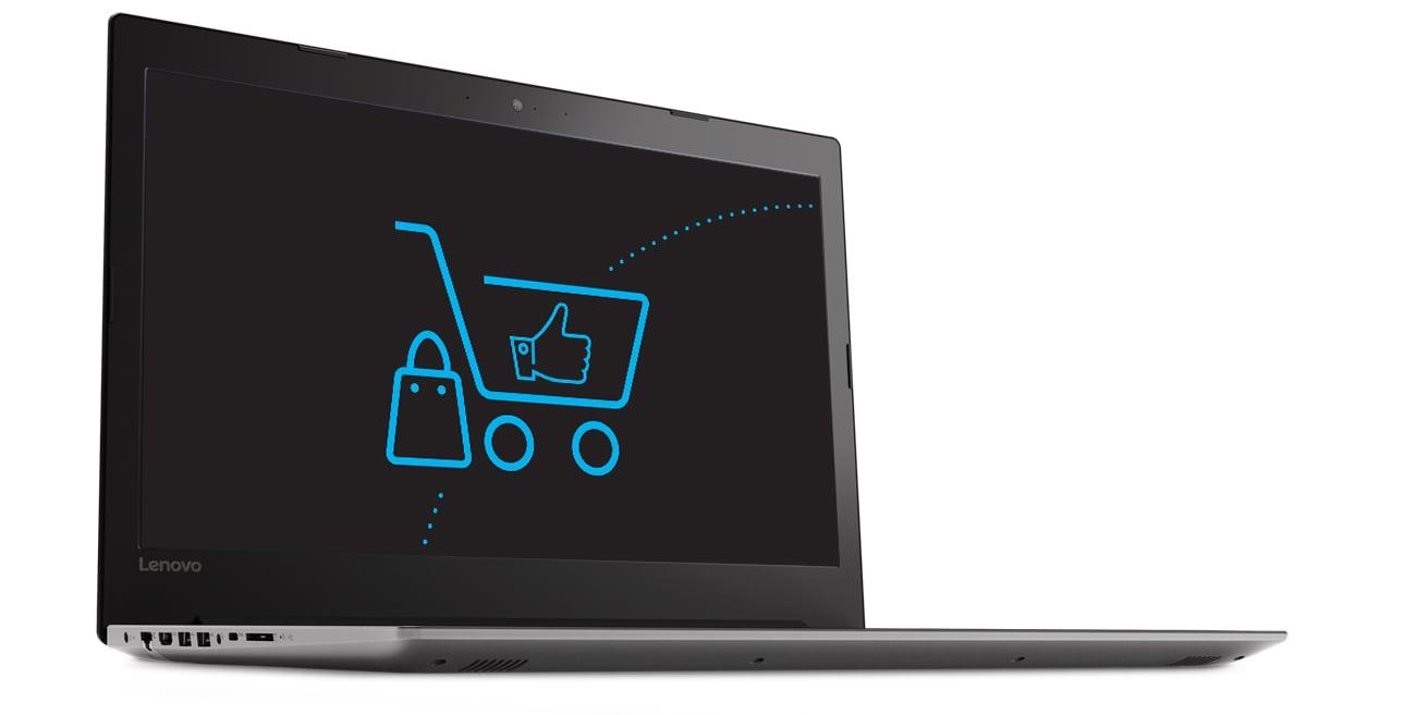 Lenovo Ideapad 320 technologia antyodblaskowa wyraźny obraz