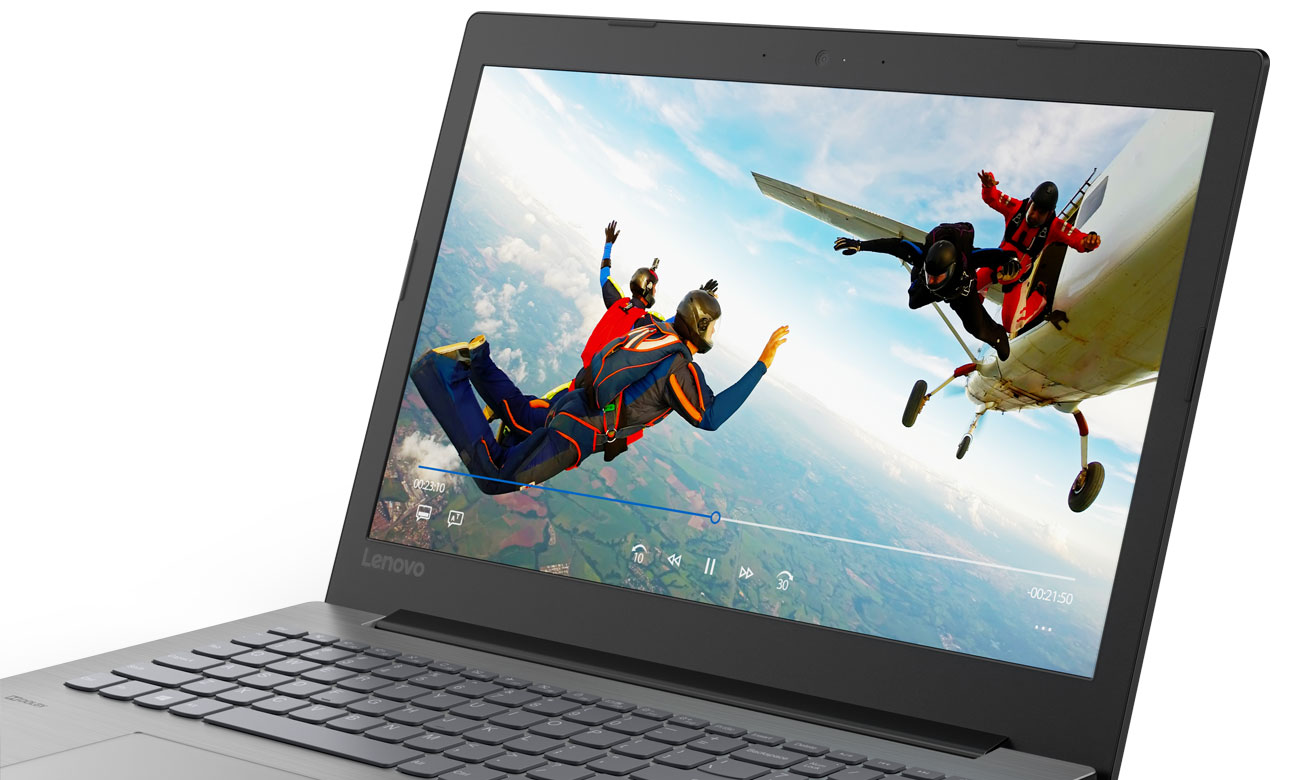 Lenovo Ideapad 330 Realistyczny, wyraźny obraz i pełne, ciepłe brzmienie