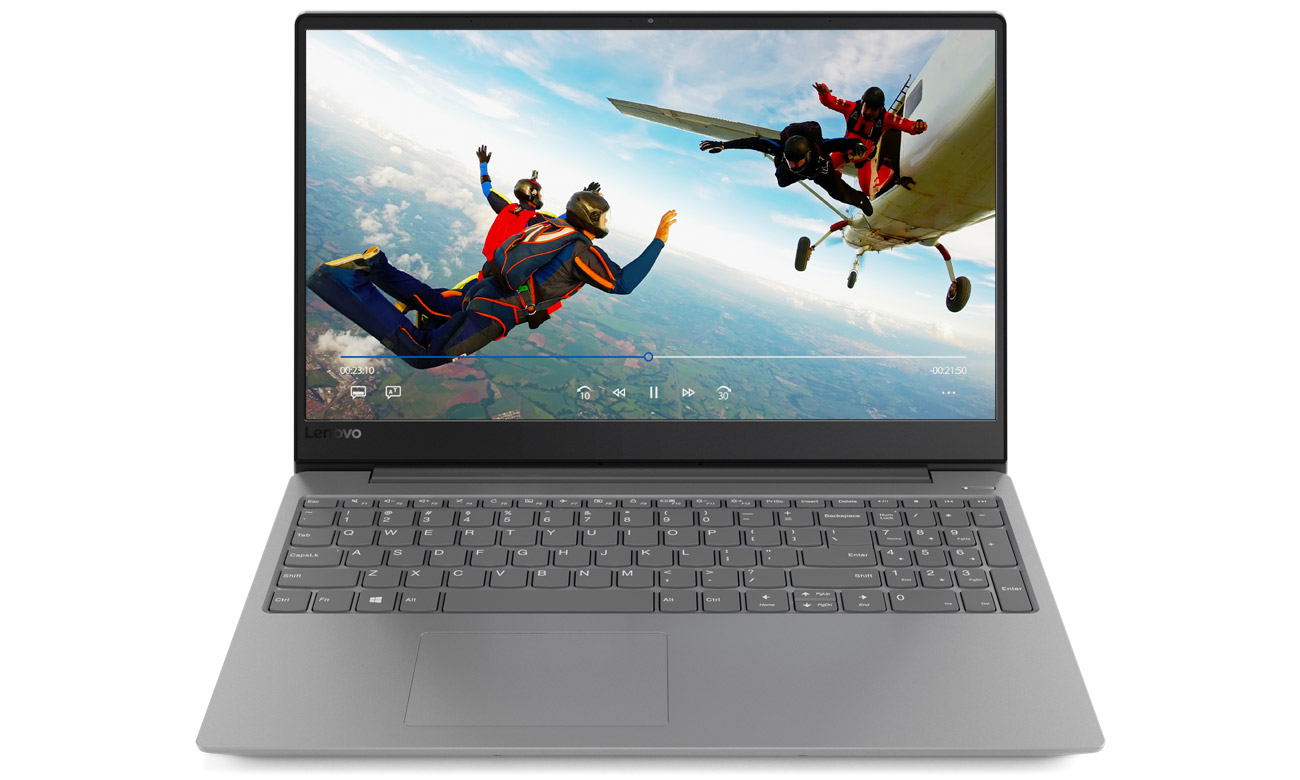Lenovo Ideapad 330s Realistyczny obraz na ekranie Full HD IPS z wąskimi ramkami