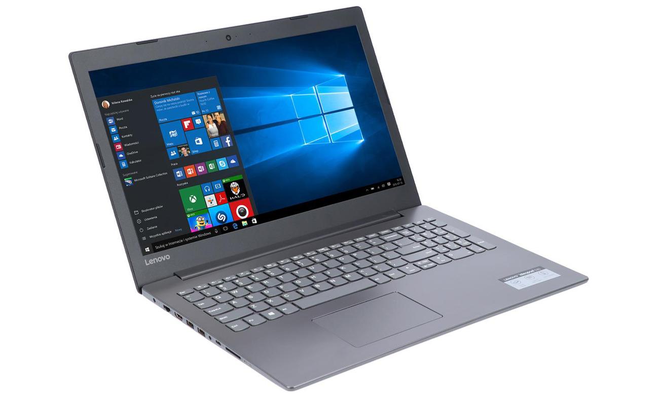 Lenovo Ideapad 330 Realistyczny, wyraźny obraz i pełne, ciepłe brzmienie