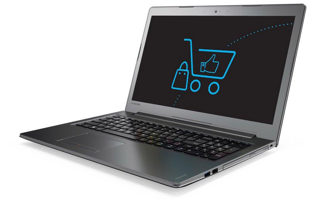 Laptop Lenovo Ideapad 510 ekran full hd wbudowana kamera jakość obrazu rozmowy online