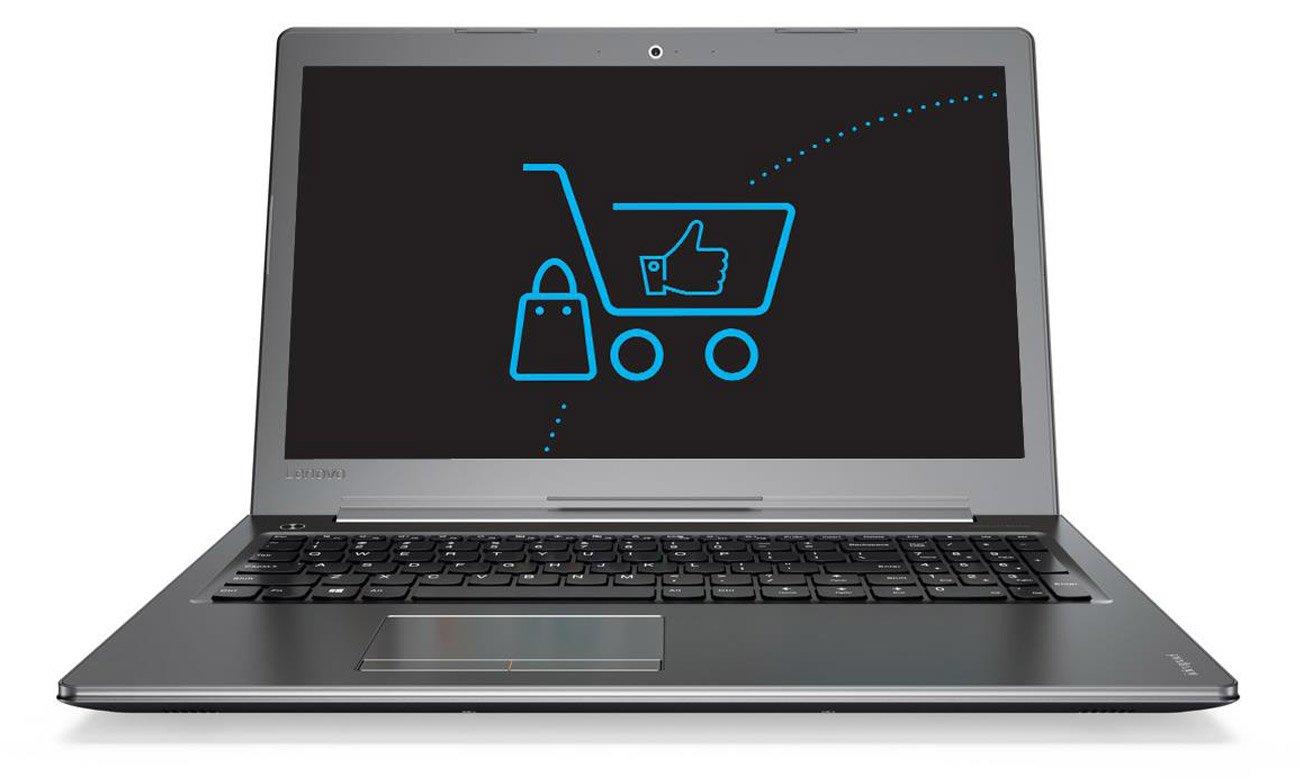 Laptop Lenovo Ideapad 510 procesor intel core i5 siódmej generacji turbo wydajnośc