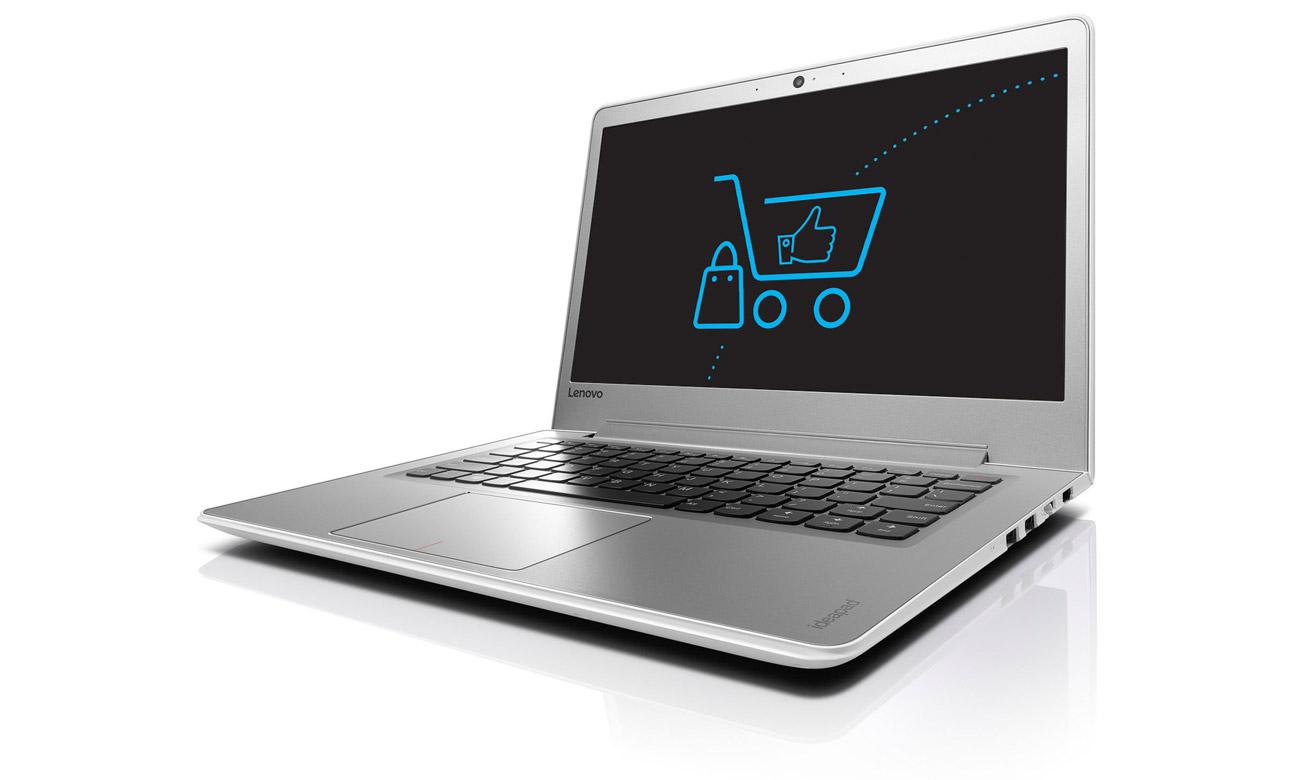 Laptop Lenovo Ideapad 510s ekran full hd wbudowana kamera wysoka jakośc obrazu rozmowy online