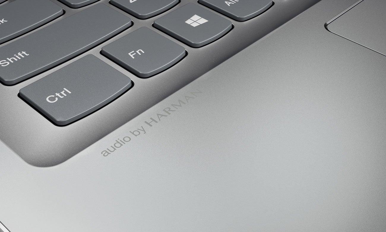 Lenovo Ideapad 520 Czystość dźwięku przy każdej głośności