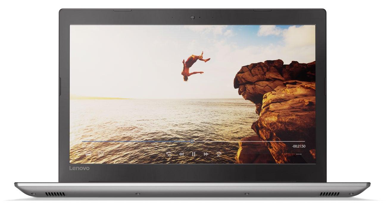 Lenovo Ideapad 520 Doskonały i wyraźny obraz Full HD IPS
